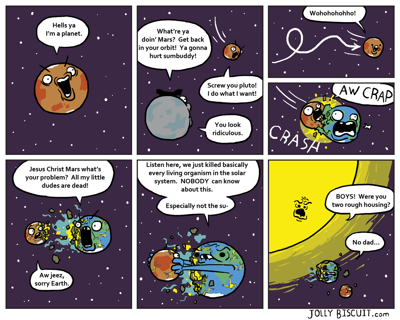 Hitchhiker's guide to the galaxy planet